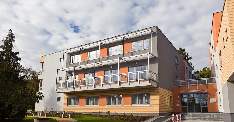 Apartmánový komplex Trnová u Prahy - domov s pečovatelskou službou