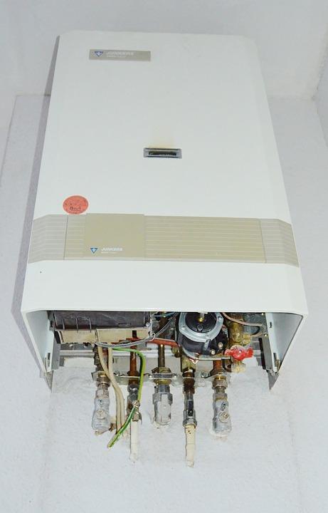 Plynové vytápění domu